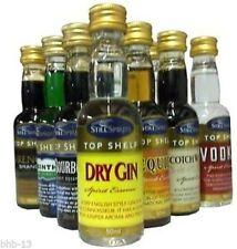Todavía espíritus Top Shelf Calidad espíritu esencias para añadir al vodka. hace 3 X 75