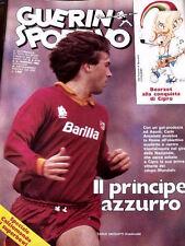 Guerin Sportivo 6 1983 Carlo Ancelotti Furino Paolo Rossi + Film Campionato