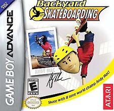 Video Game GBA Backyard Skateboarding Andy Mac 2006 Game Boy Advance NEW