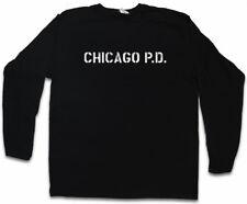 Chicago Montauk Manica lunga T-shirt Police Department Chicago Fire Hank Voight simbolo