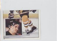1983-84 Topps Album Stickers #50 Barry Pederson Boston Bruins Hockey Card