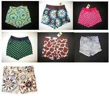 NEW baby gap girl beach spring break summer print shorts short pants 12 18 24 mo