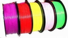 3D Printer Filament 1.75mm PLA - ABS  1KG roll - Multi-colours