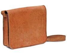 Women Quality Genuine Vintage Leather Messenger Shoulder Laptop Bag Briefcase