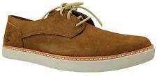 Timberland EK Hudston Plain Toe Herren Sneaker Schuhe Leder braun Gr 41 44,5 NEU