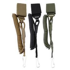 Lanyard Sling Gun Secure Spring Elastic Tactical Hand Belt Military Rope DB