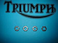 Triumph indicador de señal de vuelta Inoxidable Ss NUTS T100 T120 T140 V e es T150 T160