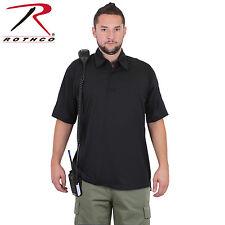 Rothco 3912 Tactical Performance Polo Shirt - Black
