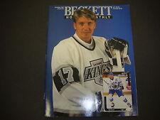 Beckett Hockey Monthly Magazine October 1991 Jari Kurri Cliff Ronning M2188