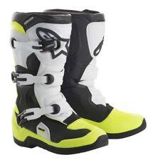 ALPINESTAR TECH 3 Kids Boots MX Size 9 10 11 12 13 1 2 3 4 5 6 7 Flo Yellow