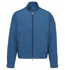 PEUTEREY uomo giacca biker bomber estivo zip azzurro JACKAL GB 238