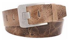 5 cm Vollleder Gürtel Damen Büffelleder echtes Leder Jeansgürtel Belt Vascavi