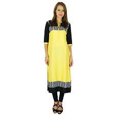 Phagun Indian Ethnic Kurti Cotton Designer Bollywood Kurta Women Tunic Dress