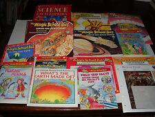 Kingfisher Science Encyclopedia/Creepy Crawlies/Magic  Bus/VanCleave Homeschool