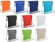 shopper borsa della spesa cotone 100%  135 gr/mq con tracolla 34 x 40 cm