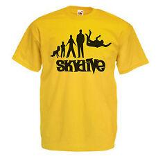 Skydive Children's Kids Childs T Shirt