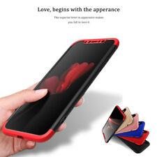 New Full Body Slim Case Hybrid Hard Shockproof Cover iPhone 8 7 Plus