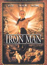 Iron Man, Acceptable DVD, Lung Fei, Jimmy Wang Yu, Byong Yu,
