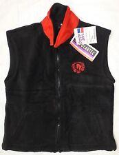 DEVON AIRE Women's POLARTEC Fleece Riding Vest Jacket, Black, Size Large, NWT