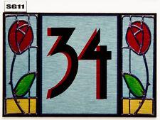 Rennie mackintosh Personalised Plaque  Name Plate Door Number Nameplate