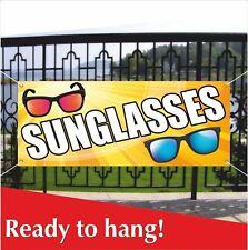 Sunglasses Banner Vinyl / Mesh Banner Sign Flag Sunshade Shop Dark Glasses Store