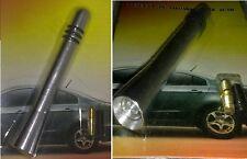 Antenna cromata FM universale per auto,radio,autoradio.Corta 9 cm. Grigia o nera