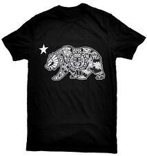 Aztec Calendar Cali Bear T-Shirt.