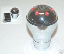 Manual Shift KNOB Knobs CHROME RED LED LIGHT 37R