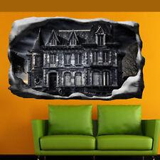 Maison hantée gothique goth Wall stickers 3D Art Mural Chambre Bureau Shop DECOR SD9