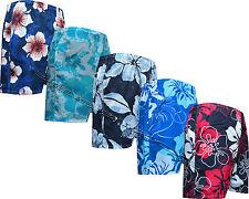 Para Hombre Chicos Verano Floral Estampado Playa Shorts Surf Board Shorts de baño M-XXXL