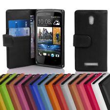 Handy Hülle für HTC DESIRE 500 Cover Case Tasche Etui mit Kartenfächer