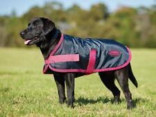 Weatherbeeta Windbreaker 420D Dog Rug Coat Black/Boysenberry Showerproof
