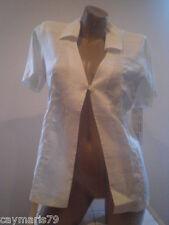ARTICULO NUEVO bonita CHAQUETA LINO mujer TALLA 40 jacket woman blazer