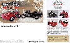 Boss Hoss Motorcycles + Trikes Prospekt (GB) 2000 brochure prospectus 1AA++!