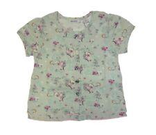 Mexx Niña Camiseta de Bebé Azul Claro en el Blumen-Alloverprint Talla 62 , 68