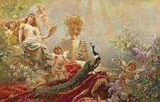 The Toilet of Venus by Constantina Makowsky Open Edition Children Cherubs Canvas