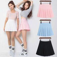 Lolita Girl Mini Skirts Cute Japanese School Uniform High Waist Harajuku Denim