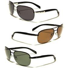Round Rimless POLARIZED Aviator Sunglasses Fishing Driving Men's Women's Glasses