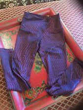 Lululemon Wunder Under Pant Hi-Rise shifted horizon red grape black 4 6 8 NWT