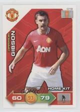 2011 2011-12 Panini Adrenalyn XL Manchester United #019 Home Kit Darron Gibson