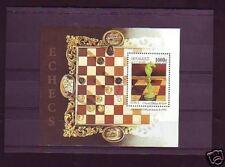 +3050+ TIMBRE GUINEE    BLOC ECHECS  1997