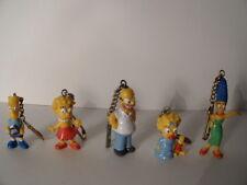 Simpsons verschiedene Figuren als Schlüsselanhänger Raritäten Bully 1991
