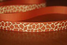 10mm Original jirafa imprimir la cinta, Animal Print Cinta Decoración de Pasteles Regalo