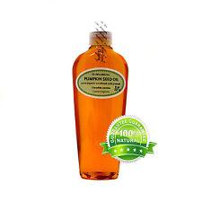 Unrefined Pumpkin Seed Oil 100% Pure 2oz 4oz 8oz 12oz 16oz up to Gallon Organic