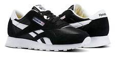 Reebok Classic Nylon Black White Junior Kids Running Tennis Shoes Item J21506
