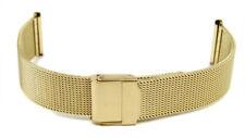 Stalux Ersatzband Uhrenarmband Milanaise Edelstahl Band IP Gold 20mm 70-780622