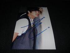 "JUSTIN CHON signed Autogramm auf 20x30 cm Bild ""TWILIGHT"" InPerson LOOK"