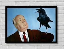 Alfred Hitchcock I VOLATILI Crow spalla MOVIE FILM POSTER STAMPA FOTO A3 A4