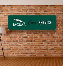 JAGUAR Service Vinyl Banner Sign Garage WorkShop Many Size Logo Dealer