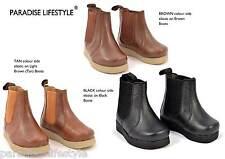Infants Boots Kids Junior Girls Boys School Shoes New Chelsea Size 5 6 7 8 9 10